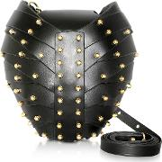 Leather Heart Bag