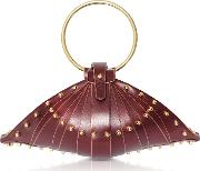 Leather Shell Bag Wstuds