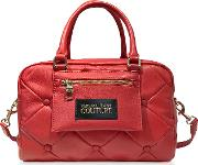 Quilted Nappa Satchel Bag