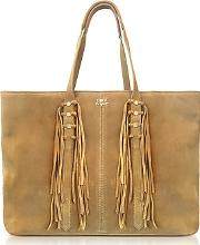 Mick Suede Fringed Tote Bag