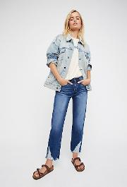 Higher Ground Boyfriend Crop Jeans By  At Free People
