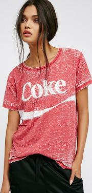 Coke Tee By  At Free People