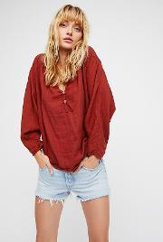 Doublecloth Solid Top By  At Free People