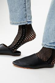 Gallery Fishnet Sock By  At Free People