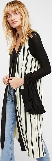 Business Casual Pinstripe Vest By