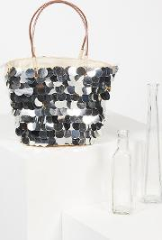 Isle Of Paradise Straw Tote By