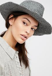 Mellow Mood Packable Straw Hat By