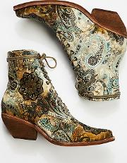 Grove Lace Up Western Boot By  At Free People