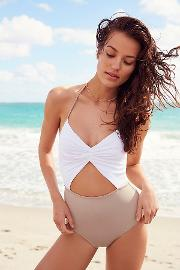 Flora One Piece Swimsuit By  At Free People