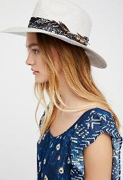 Havana Straw Hat By  At Free People