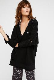 Distressed Pullover By  At Free People