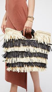 Hula Straw Clutch By . At Free People