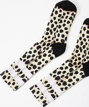 Feline Classic Crew Sock By  At Free People