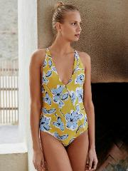 Palma Printed One Piece Swimsuit