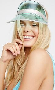 High Roller Vinyl Visor By  At Free People