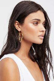 Heart To Heart Charm Earrings By  At Free People
