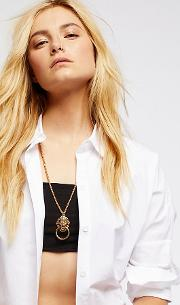 The Vandal Knocker Pendant By  At Free People