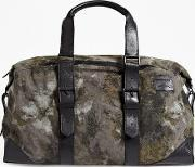Coby Canvas Weekend Bag Camobrown