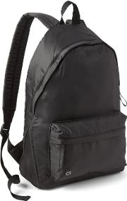 Nylon Backpack True Black