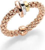 Flex'it Prima Rose Gold Ring Size Medium