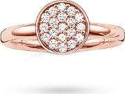 Round Cluster Ring Size M.5