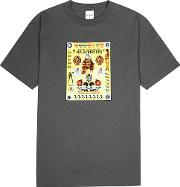 Poster Printed Cotton T Shirt