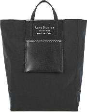 Baker Black Taffetta Tote Bag
