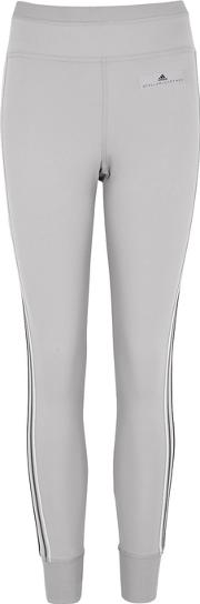 Light Grey Stretch Jersey Jogging Trousers