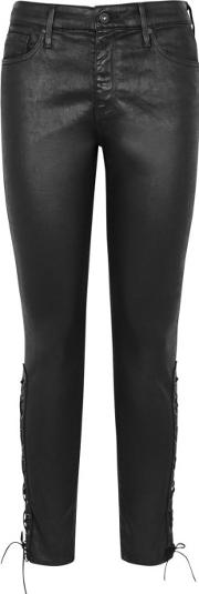 Farrah Skinny Faux Leather Trousers