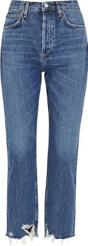 Riley Blue Straight Leg Jeans