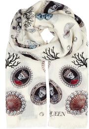 Lost At Sea Printed Modal Blend Scarf