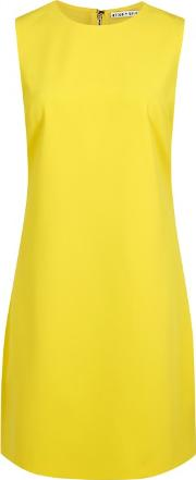 Alice Olivia Coley Yellow A Line Mini Dress Size 10