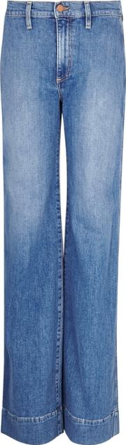 Alice Olivia Gorgeous High Rise Wide Leg Jeans