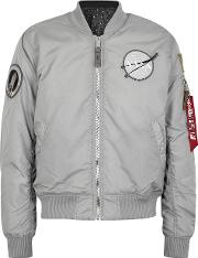 Nasa Ma 1 Reversible Shell Bomber Jacket