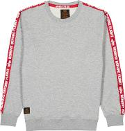Rbf Tape Cotton Blend Sweatshirt