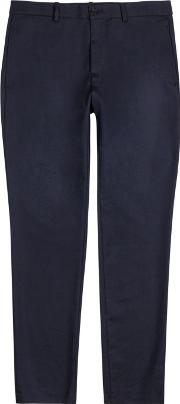 A.p.c. Jude Cotton And Wool Blend Chinos Size L
