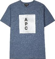 Blue Cotton T Shirt