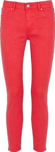 Carly Coral Skinny Jeans