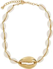 Gold Plated Shell Necklace