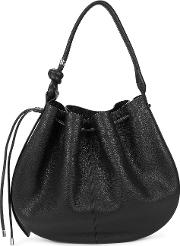 Ina Large Leather Top Handle Bag