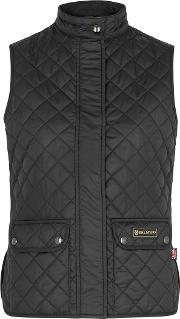 Black Quilted Shell Gilet