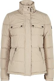 Slope Stone Quilted Shell Jacket