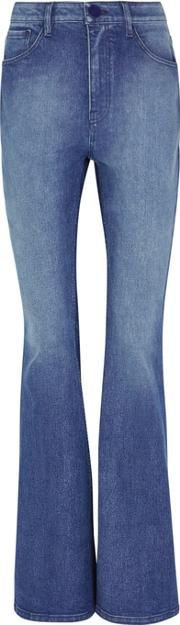Blue Flared Leg Jeans