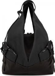 Ganges Alias Medium Canvas And Leather Backpack
