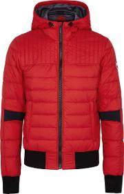 Cabri Red Quilted Shell Jacket