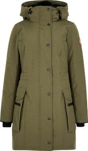 Kinley Olive Shell Parka