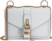 Chloe Aby Small Pale Blue Leather Shoulder Bag