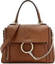 Chloe Faye Day Small Leather Shoulder Bag
