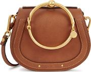 Chloe Nile Small Leather Cross Body Bag