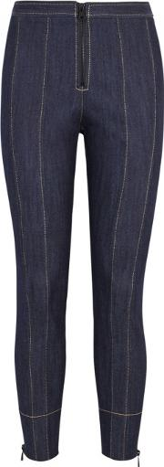 Mariella Cropped Skinny Trousers Size 8